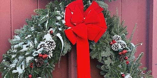 Wells Hollow Farm Wreath Decorating Workshop