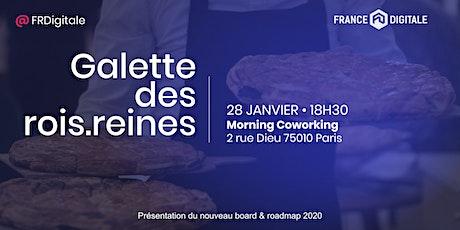 Galette des rois.reines 2020 by France Digitale billets