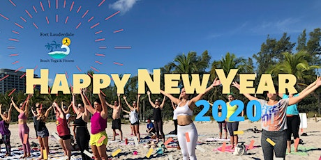 A Special New Years Day Beach Yoga tickets