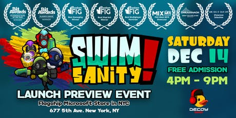 Swimsanity! Launch Preview Event tickets