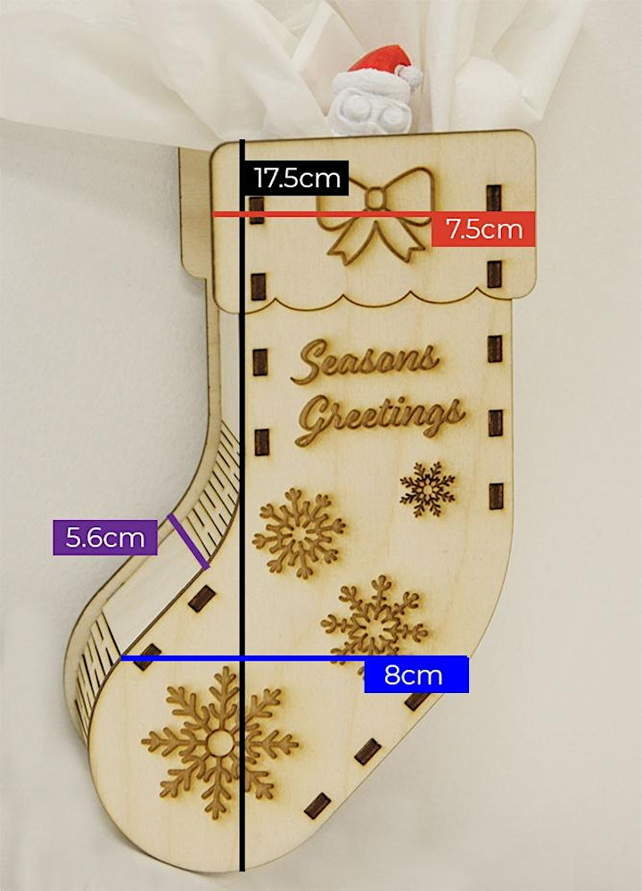 Learn To Laser Cut: Make a Stocking Gift Box image