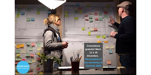 Personalizza il tuo workshop del 2020  -  Consulenza gratuita, 18 Dicembre
