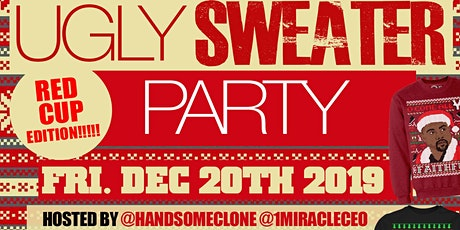 """FREAKY FRIYAY'S UGLY SWEATER PARTY 2019'"" AT THE JUICY BOX BAR  tickets"