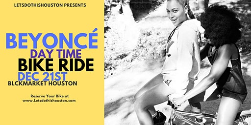 Beyonce Day time Bike Ride to Blck Market Houston