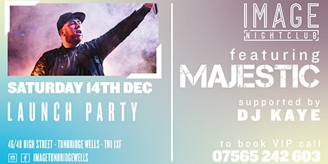 Image Nightclub Launch Party with Majestic tickets