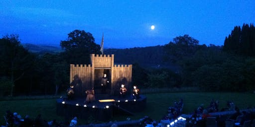 Macbeth - Professional Outdoor Theatre in the Gardens at Pentillie Castle