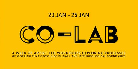 Co-Lab: Workshop with Will Shannon tickets