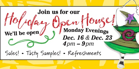 Homestyle Charlie Holiday Open House tickets