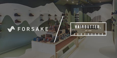Forsake x Hairbutter Christmas Party tickets