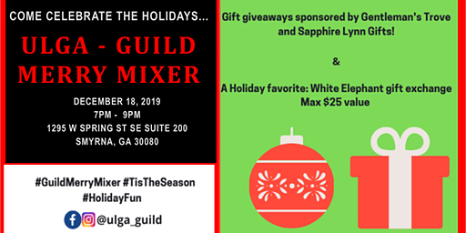 Guild Merry Mixer - Holiday Party