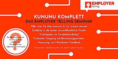 """Offenes Beratungsseminar """"kununu für Arbeitgeber"""" (für max. 8 Unternehmen) Tickets"""