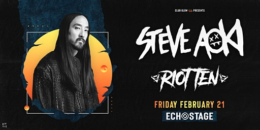 Steve Aoki w/ Riot Ten