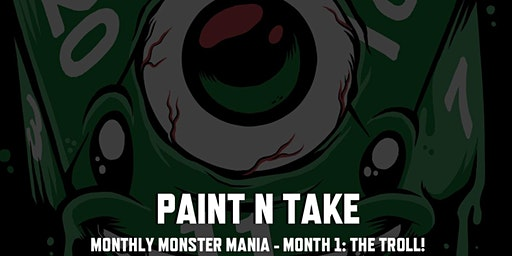 New Years Day Paint & Take Session 2