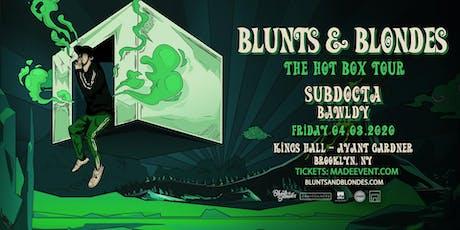 Blunts & Blondes tickets