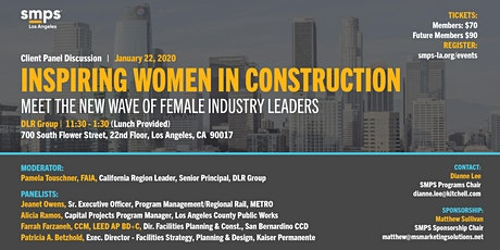 Inspiring Women in Construction: Meet the Wave of Female Industry Leaders tickets