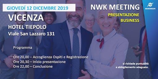 MEETING PRESENTAZIONE BUSINESS - NEWORKOM COMMUNITY - VICENZA