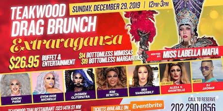 Teakwood drag Brunch Extravaganza 12/29/19 tickets