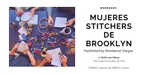 Mujeres Stitchers de Brooklyn. January 2020