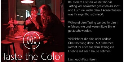 Taste the Color
