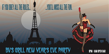 New Year's Eve Party - 4 hour open bar tickets