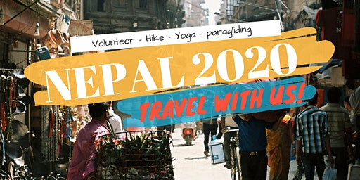 NEPAL 2020 - TRAVEL WITH PURPOSE
