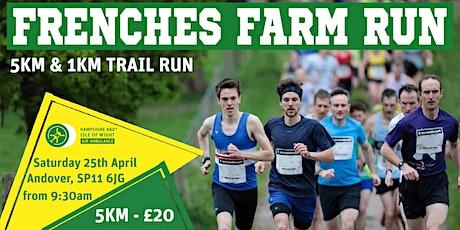 Frenches Farm Trail Run tickets