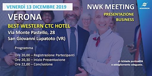 MEETING PRESENTAZIONE BUSINESS - NEWORKOM COMMUNITY - VERONA