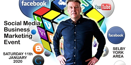 Social media & business marketing day Saturday 11th January 2020 tickets