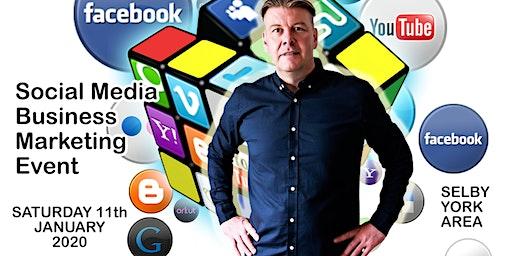 Social media & business marketing day Saturday 11th January 2020