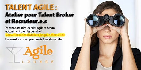 Atelier Talent Agile™ Workshop - Hiver 2020 tickets