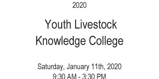 2020 Youth Livestock Knowledge College