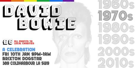 David Bowie 1970s Brixton Party Night tickets