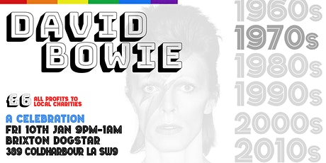 David Bowie 1970s Brixton Party Night tickets