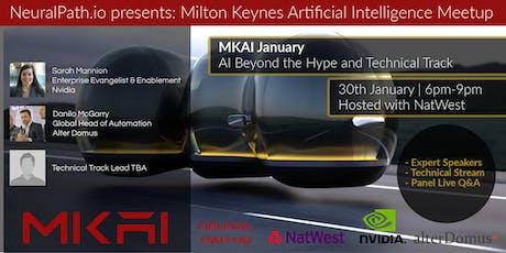 MKAI January   Artificial Intelligence Meetup   AI Beyond the Hype tickets