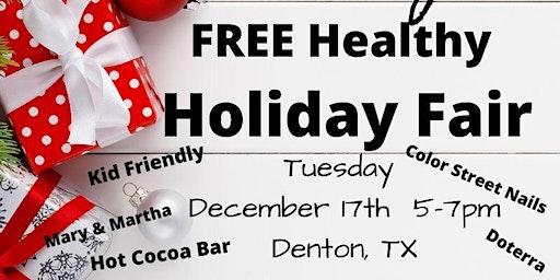Denton Holiday Healthy Recipe Night & Holiday Fair FREE