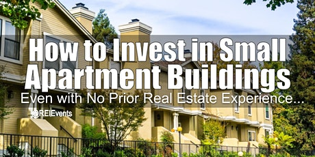 Investing on Small Apartment Buildings in District of Columbia tickets