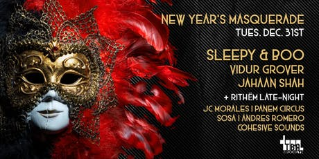 New Year's Eve Masquerade - Sleepy & Boo + more tickets