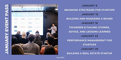 Stacklist January Event Pass  tickets
