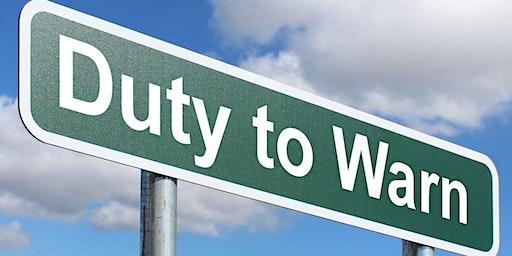 Ethics Behind Duty to Warn
