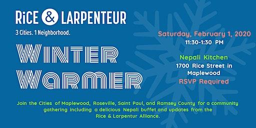 Rice & Larpenteur Winter Warmer Community Lunch