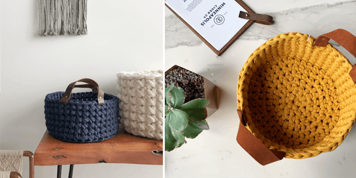 Special Holiday Event: Crochet Basket w/ Handles