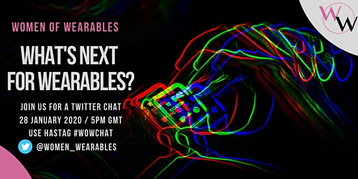 What's next for wearables?, Twitter chat