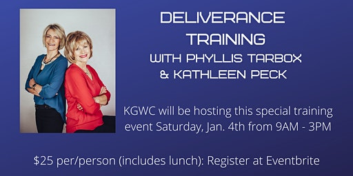 Deliverance Training w/Phyllis Tarbox & Kathleen Peck