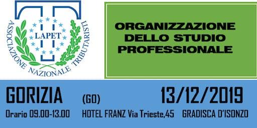 LAPET: ORGANIZZAZIONE DELLO STUDIO PROFESSIONALE