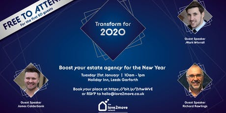 Transform  for 2020 tickets