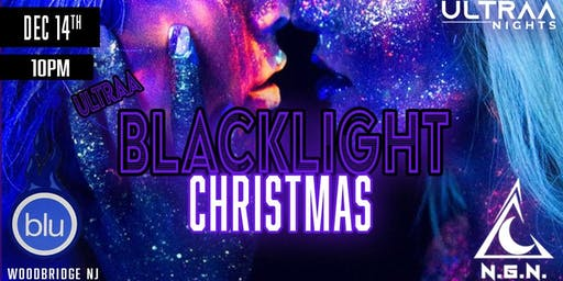 Ultraa Blacklight Christmas Party