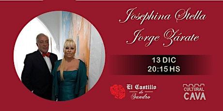 Opera Show Josephina Stella - Jorge Zárate entradas