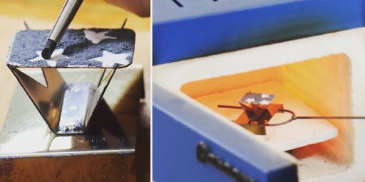Have a go at enamelling