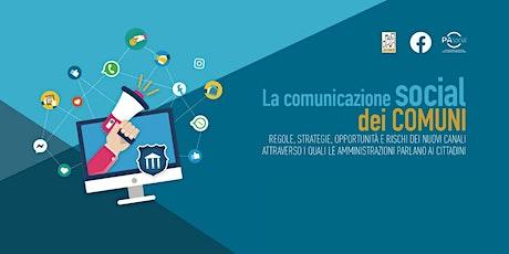 La comunicazione social dei Comuni biglietti