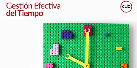 Workshop: Gestión Efectiva del Tiempo tickets